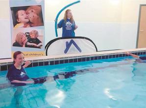 Maidenhead school's sponsored swim for hospice