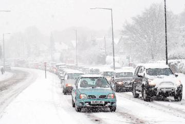 Snow warning for Slough, Windsor and Maidenhead