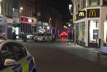 Police called to incident near McDonald's in Maidenhead High Street