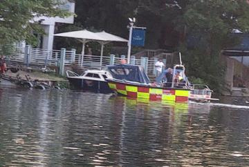 Emergency services at serious incident in Cookham