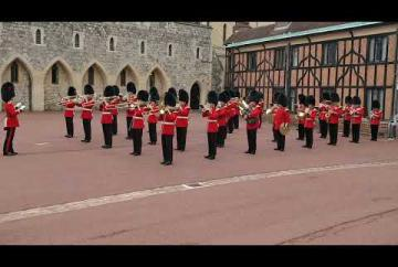 Coldstream Guards perform Game of Thrones theme during Changing the Guard ceremony
